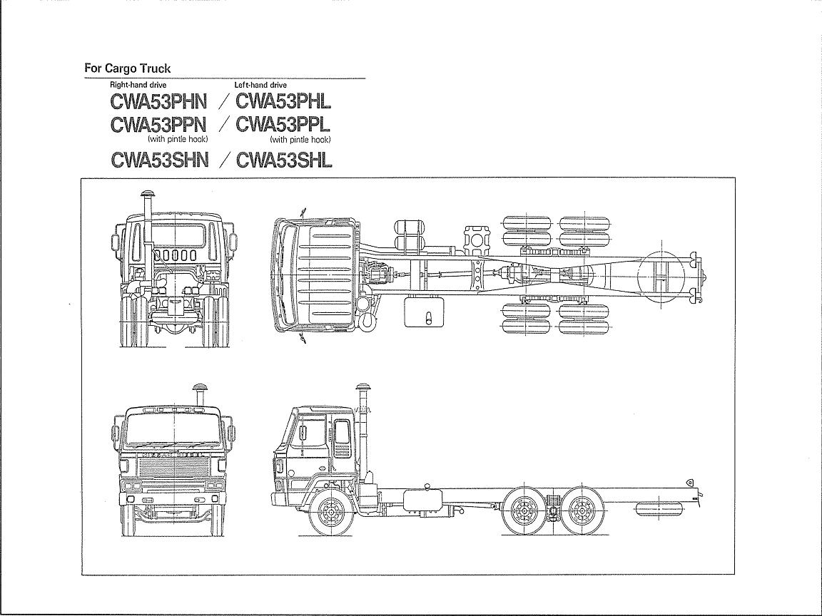 Nissan-CWA53 CARGO TRUCK
