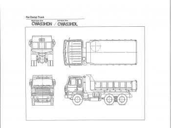 Nissan-CWA53 DUMP TRUCK