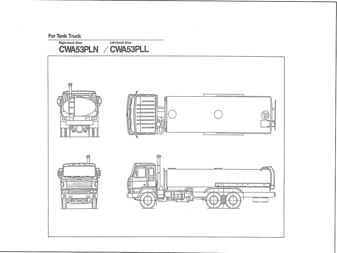Nissan-CWA53 TANK TRUCK