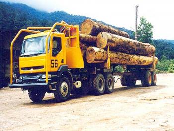 Renault Truck Models:Truck Model:Truck Model: Kerax Logging Truck