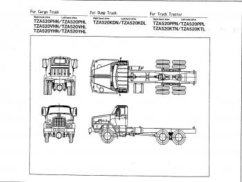Nissan-TZA520 RF8 ENGINE NISSAN DIESEL TRUCK