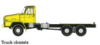 TZA520 truck chasis