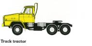 TZA520 truck tractor